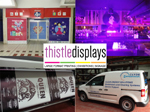 Thistle Displays Glasgow based company - graphic design & large format printing