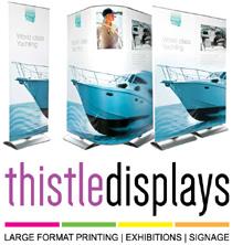 Thistle Displays | Outdoor Branding | Glasgow Edinburgh Scotland