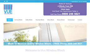 Vue Window Blinds Glasgow