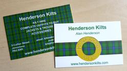 Henderson Kilts - Kilt Hire Scotland