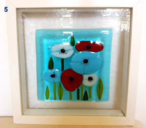 Fused Glass Gifts by Gramble Glass Paisley
