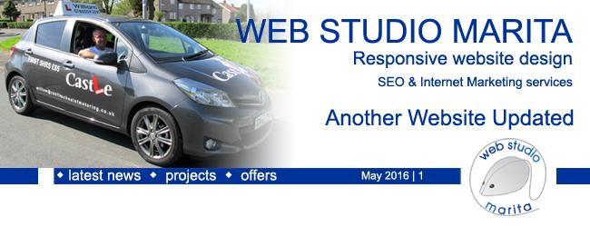 Web Studio 'Marita' newsletter | Another Website Updated | Website Design, SEO & Internet Marketing services | May 2016 | 1