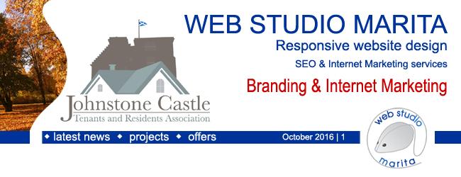 Web Studio Marita newsletter | Branding & Internet Marketing | October 2016 | 1