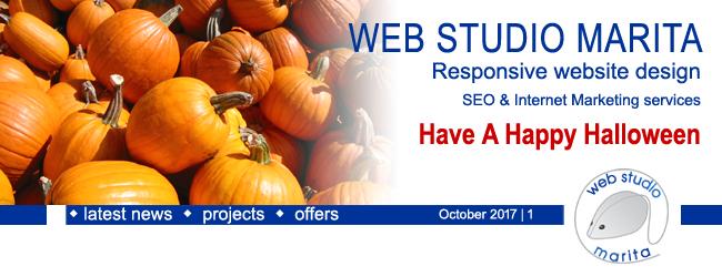 Web Studio 'Marita' newsletter | Latest News | October 2017 | 1