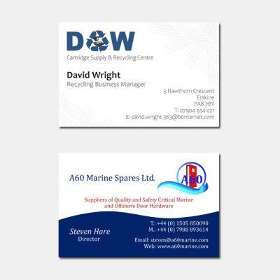 Business Cards Paisley Renfrewshire