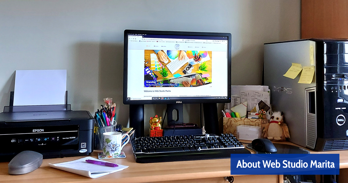About Web Studio Marita Paisley Renfrewshire Scotland