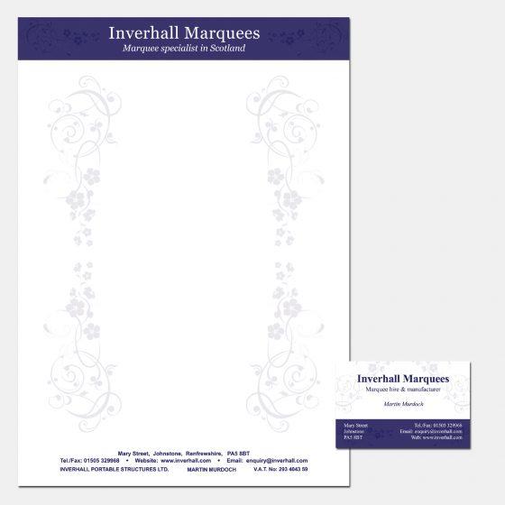 Graphic Design Branding Letterheads Paisley Renfrewshire