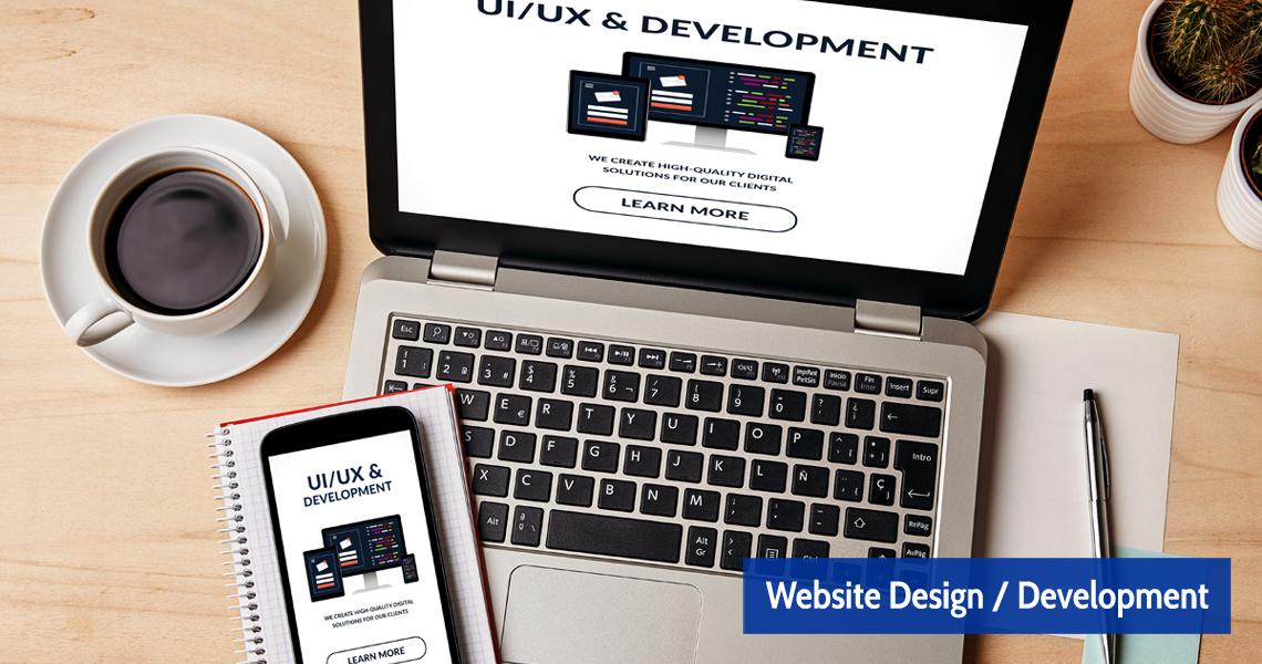 Website Design Development Paisley Johnstone Renfrewshire Scotland