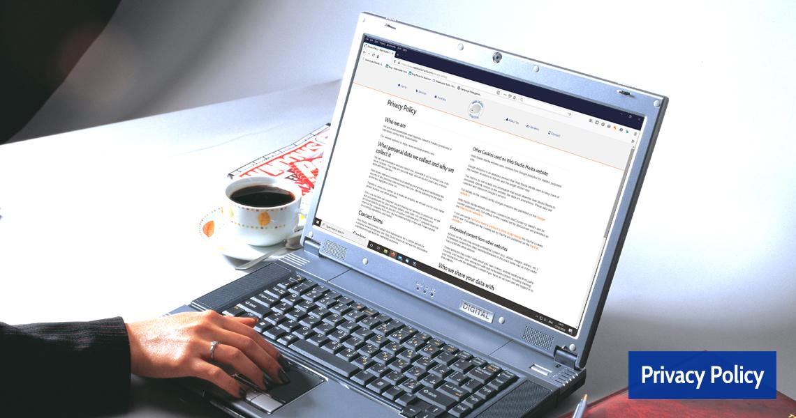Web Studio Marita Privacy Policy